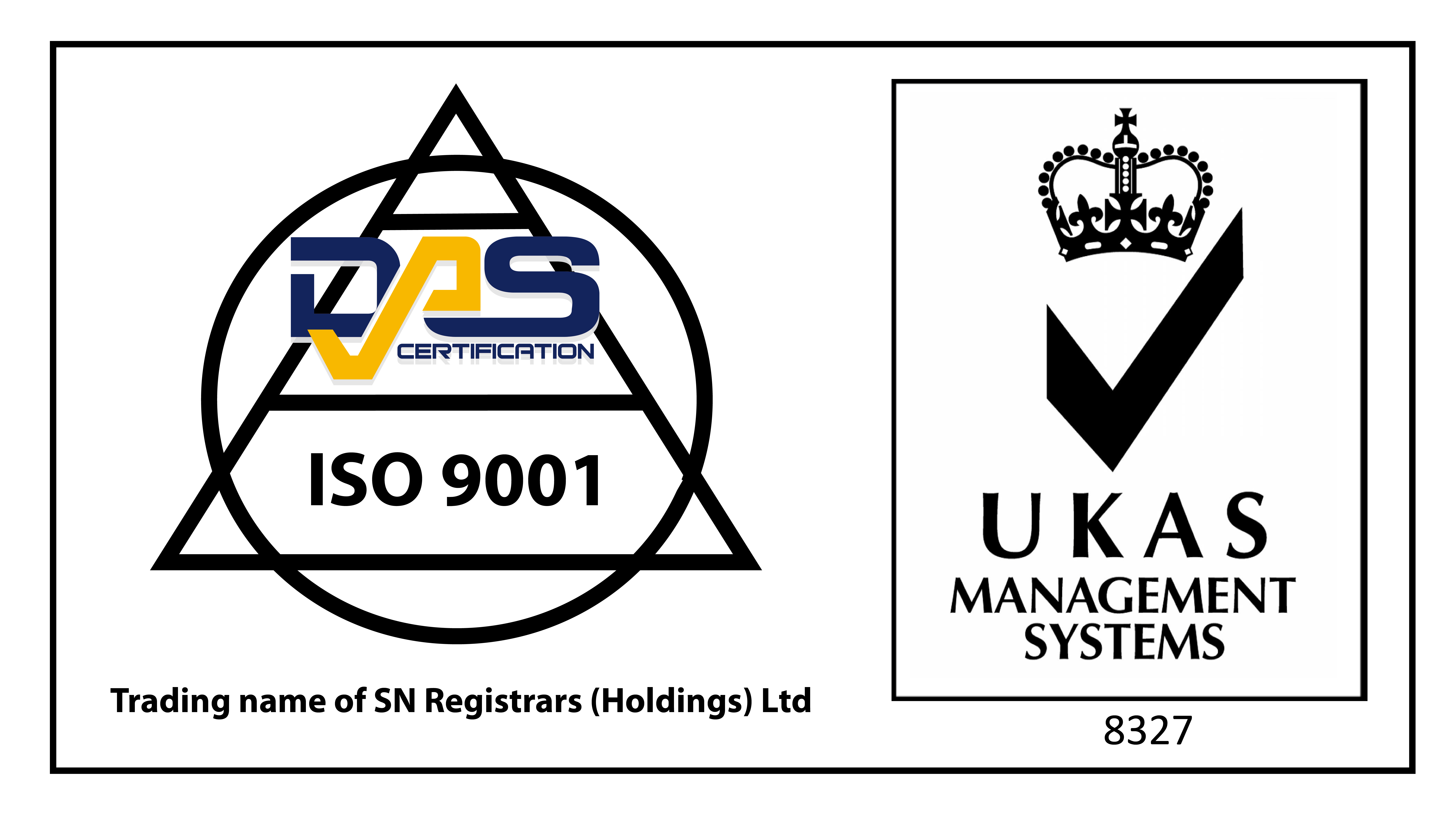 DAS ISO 9001 Quality Management Certification Logo